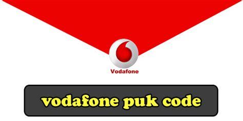 vodafone puk code   retrieve complete guide  unlock