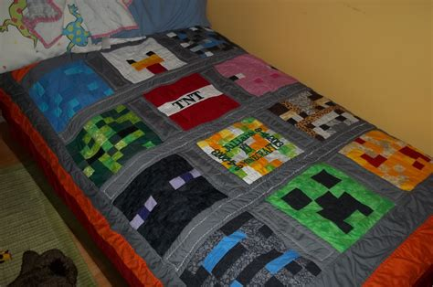 100 minecraft twin bed set purple bedding for girls