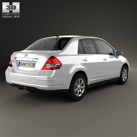 nissan tiida hatchback 2012 nissan tiida c11 sedan 2012 3d model hum3d