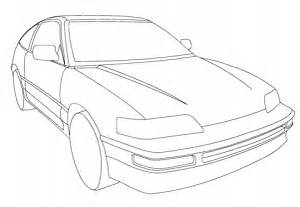 honda cr x coloring page free printable coloring pages With 2009 honda cr v