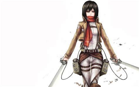 cool Mikasa Ackerman Attack On Titan - Download Hd cool