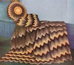 Free Vintage Ripple Crochet Afghan Patterns