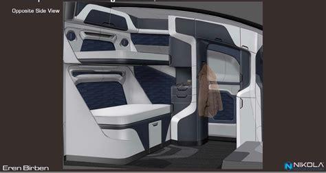nikola previews  interior   hydrogen truck carscoops