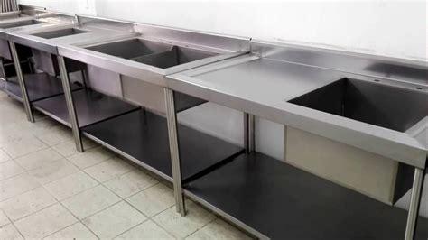 tarjas  cocinas industriales de acero inoxidable youtube