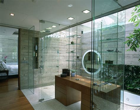 bathroom sunken bath sunset vale house singapore  wow