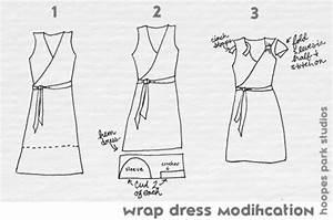 Summer Dress Series   Blue Wrap Dress