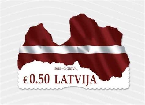 Latvijas Pasts izdod pirmo neregulāras formas pastmarku ...