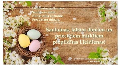 Priecīgas Lieldienas! - Rēzeknes sākumskola