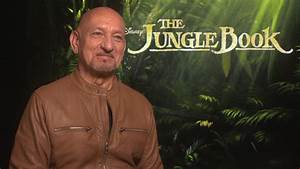 Exclusive Interview Sir Ben Kingsley on voicing Bagheera in Jon Favreau's The Jungle Book