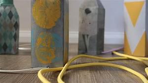 Betonoptik Selber Machen : lampen aus beton lampen aus beton handmade kultur diy ~ Michelbontemps.com Haus und Dekorationen