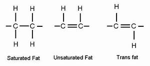 Visual Chemistry  Molecules Of Saturated Fat  Unsaturated