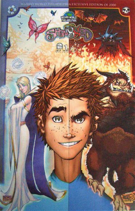 shrugged  wizard world philly michael turner variant aspen comic book