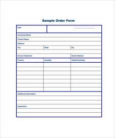 Free Order Form Template Excel Order Form Template 23 Free Documents In Pdf Word Excel