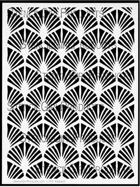 Art Deco Paris Stencil | Nathalie Kalbach |StencilGirl