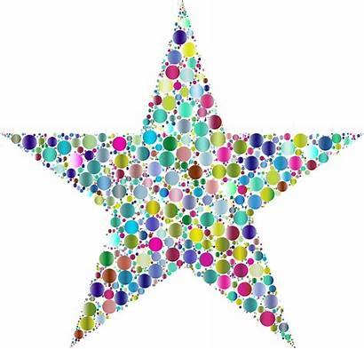 Clipart Stars Colorful Clipground Pliska Angela Cliparts