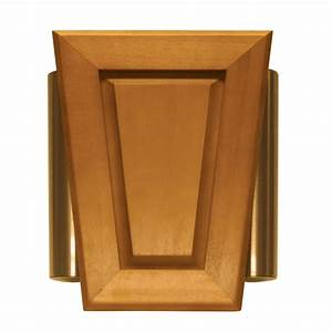 Shop Heath Zenith Wired Door Chime With A Light Oak Stain