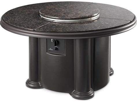 Also, this table keeps little hands away fro… Outdoor GreatRoom Chat Fiberglass 48 Round Crystal Coffee ...