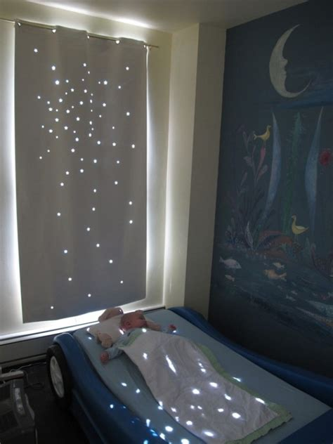 twinkle light curtains twinkle naptime curtain that helps your kid to sleep