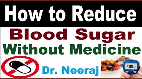 reduce blood sugar youtube