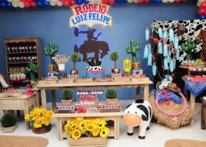 Rodeo Cowboy Birthday Party