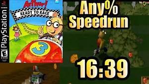 Arthur: Ready to Race Any% Speed Run World Record in 16:39 ...