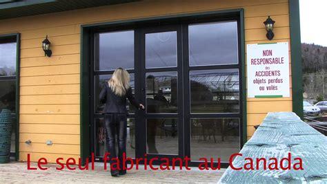 porte de garage pieton vitree youtube