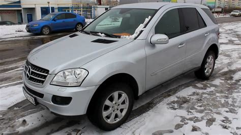 mercedes ml w164 2008 mercedes ml 320 cdi 4matic w164 start up engine and in depth tour