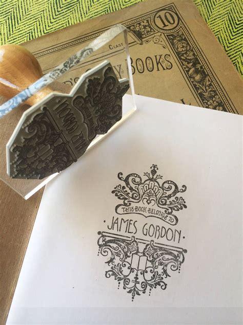 stamp filigree personalised ink pad notonthehighstreet rolfe bloomfield