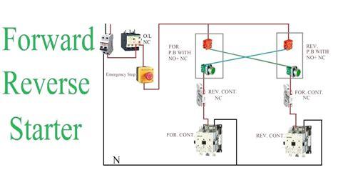 Single Phase Motor Wiring Pdf by Single Phase Forward Motor Wiring Diagram