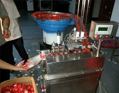 automatic caps wadding machine wad fixing machine wad assembling machine shenzhen penglai