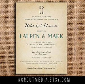 rustic rehearsal dinner invite rehearsal dinner With when to send wedding rehearsal invitations