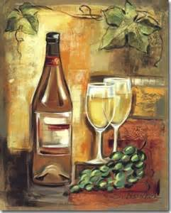 Wine and Canvas Paintings