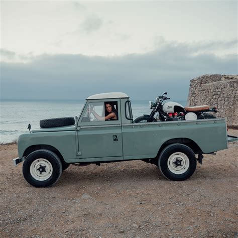 land rover series 3 custom land rover defender series iii from cool vintage columnm
