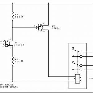 Circuit Diagram Automatic Headlight Schematic Board
