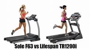 Sole F63 Vs Lifespan Tr1200i Comparison