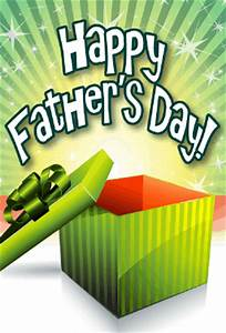 Green Gift Father's Day Card