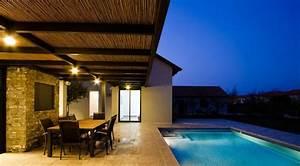 1001 idees eclairage terrasse 60 idees et conseils With eclairage exterieur terrasse piscine