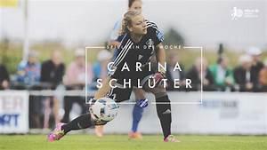 """Carina Schlüter ist """"Spielerin des 1. Spieltags"""" :: DFB ..."""