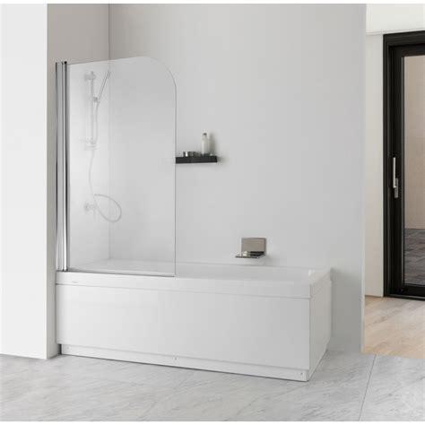 Cristallo Vasca Da Bagno parete doccia per vasca da bagno cristallo trasparente