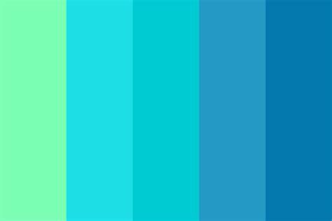 Tropical W A V E Color Palette