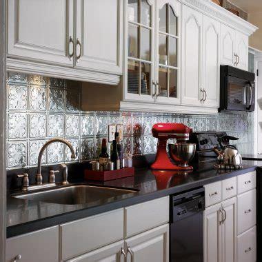 metal backsplashes for kitchens metal backsplash tiles armstrong ceilings residential 7446
