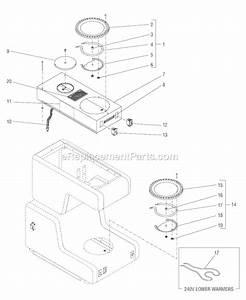 Bunn Ot Parts List And Diagram   Ereplacementparts Com