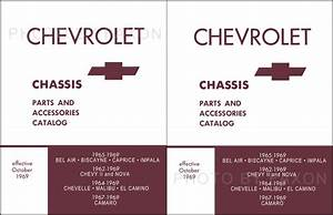 Chevelle And El Camino Chassis Parts Book 1964 1965 1966 1967 1968 1969 Malibu