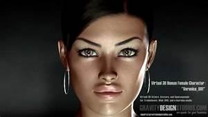 Virtual 3d Avatar  Spokesperson  3d Woman  Instructor