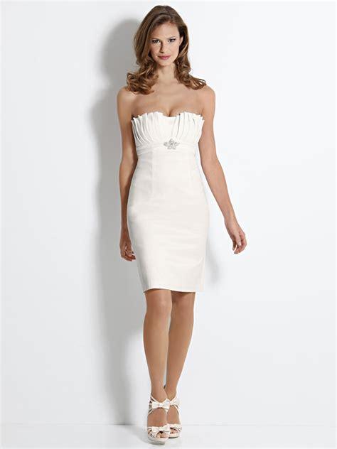 robe bustier blanche courte mariage robe de soir 233 e bustier blanche courte mode et fashion