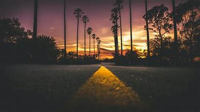 4k Road Sunset During 1080 1920 Wallpapers