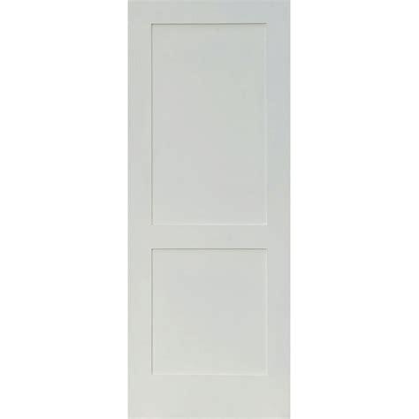 Home Depot 2 Panel Interior Doors by Krosswood Doors 36 In X 80 In Craftsman Shaker 2 Panel