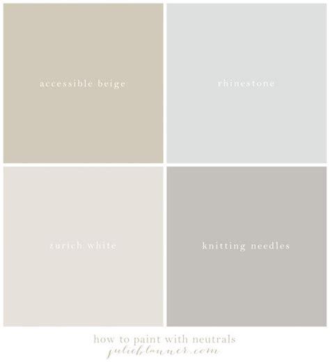 Our Neutral Paint Palette  The Best Neutral Paint Colors
