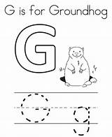 Groundhog Coloring Activities Preschool Printable February Crafts Every Middle Writing Lessons Coloringfolder Animal sketch template