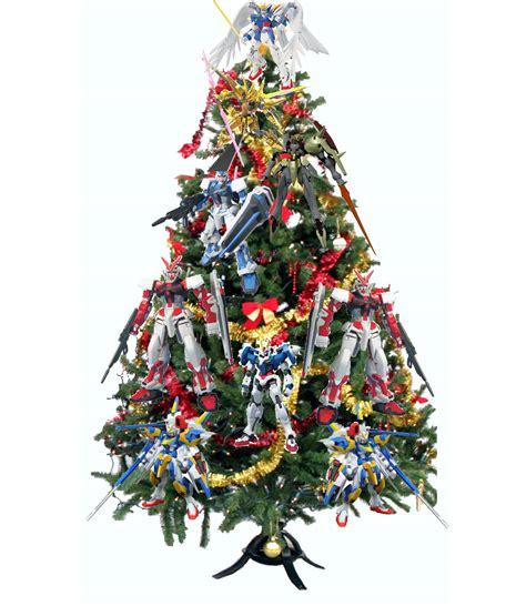gundam christmas tree chucks anime shrine
